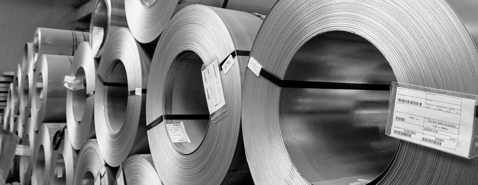 Stahl für Automotive, Schaltschrankbau, Kältetechnik, Stahlbau